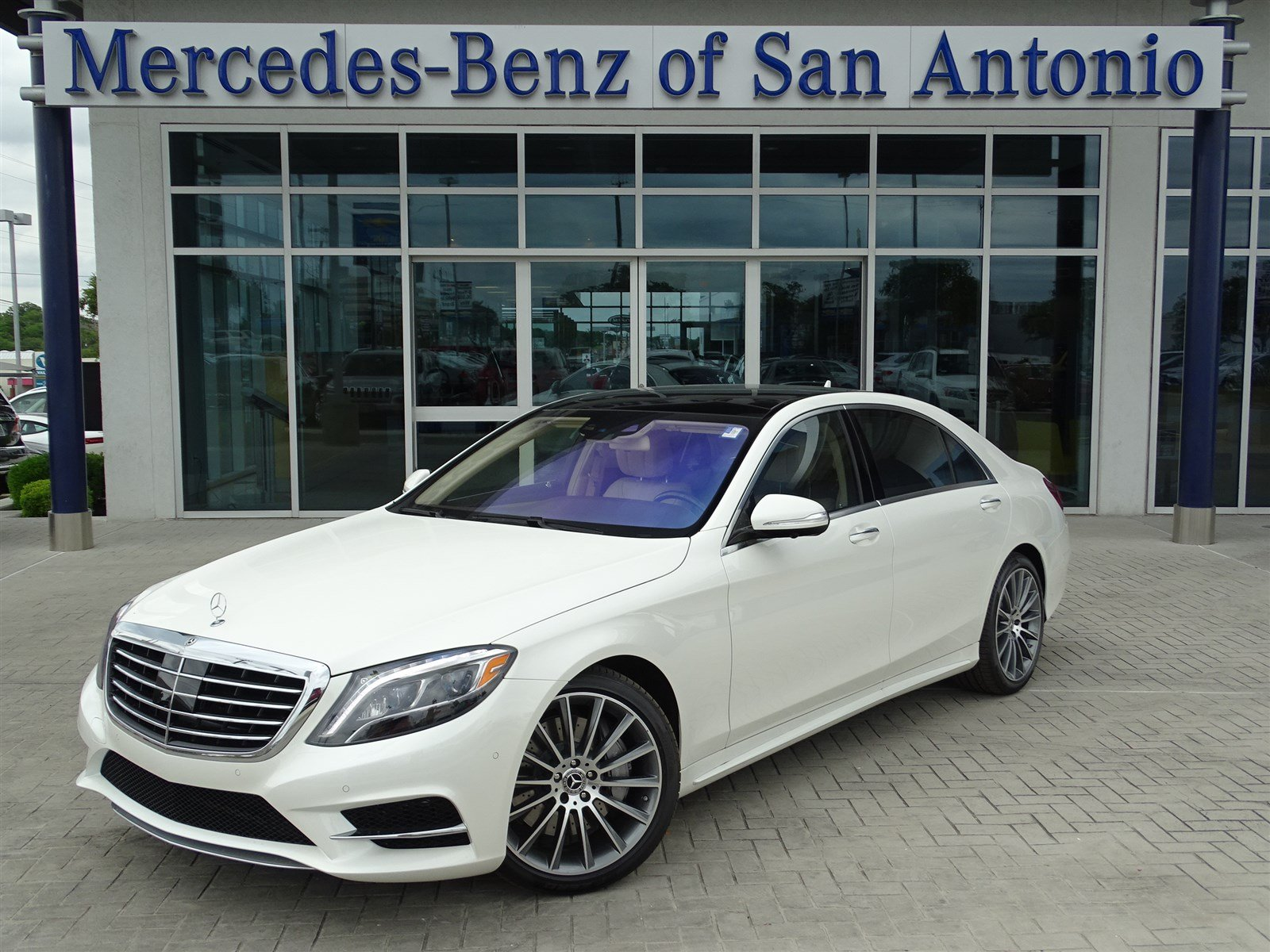 new 2017 mercedes benz s class s 550 sedan in san antonio n15823 mercedes benz of san antonio. Black Bedroom Furniture Sets. Home Design Ideas